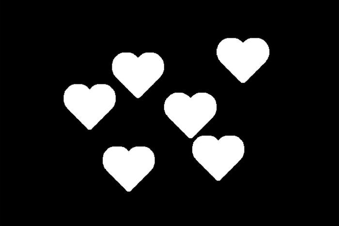 Heart shaped bokeh