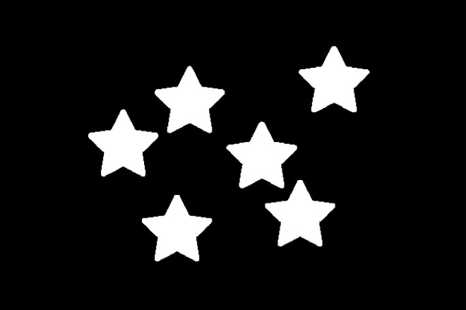 Convolution result: Starry city lights (come on, use your imagination! hehehe)