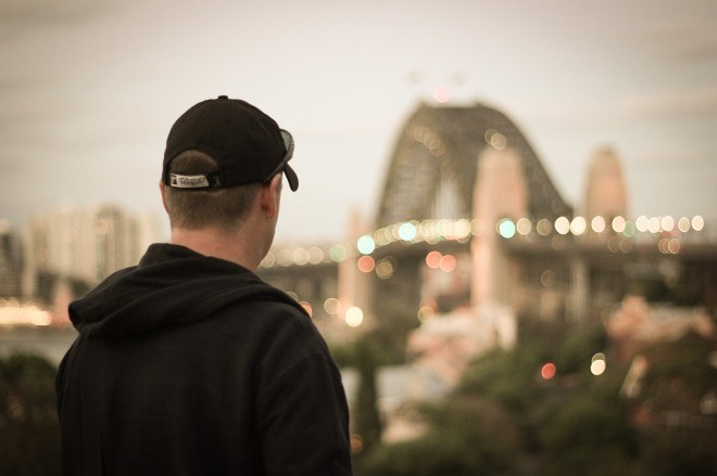 Harbour Bridge Bokeh