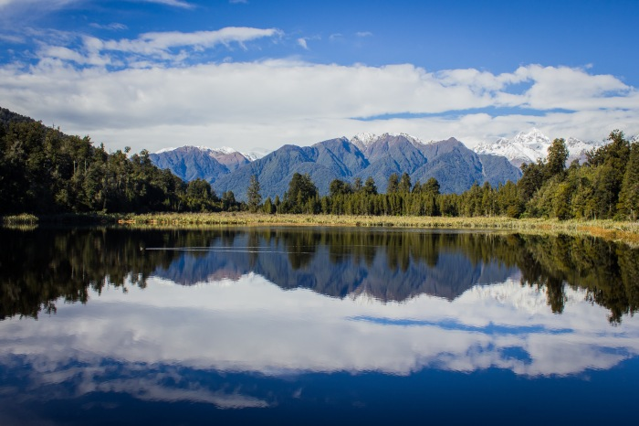 Lake Matheson in New Zealand (shot at f/10).